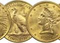 Comment déterminer la valeur des pièces d'or en France et en Europe ?