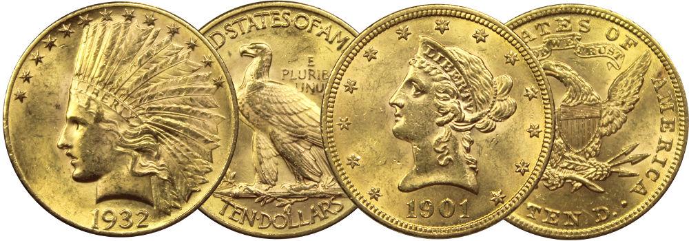 Valeur des pièces d'or