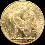 Caractéristiques du 20 Francs Marianne Coq