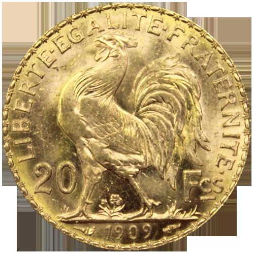 20 francs Marianne Coq: l'achat en or de référence