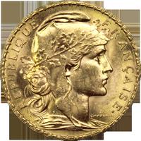 Vendre vos pièces de 20 francs Napoléon